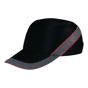 Delta Plus Air Coltan bump cap black/red