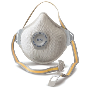 Moldex Air Plus 3405 FFP3 dustmask with ventex-valve - Box of 5