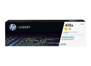HP 410A (CF412A) toner cartridge, geel