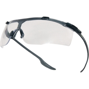 Delta Plus Kiska veiligheidsbril zwart - heldere lens