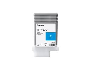 Canon PFI-107C inkt cartridge cyaan, 130 ml