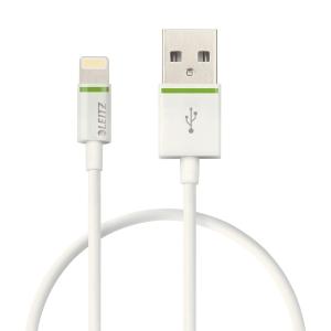 Leitz Lightning USB Cable 30cm white
