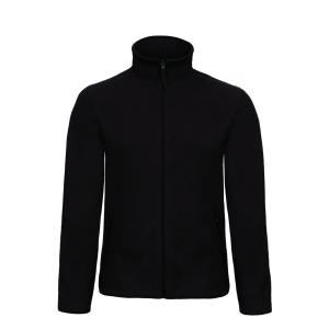 B&C Micro Fleece Full Zip 280gr donker grijs - size L - doos van 5