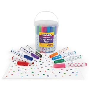 PK44 COLORATIONS STAMP FELT PENS