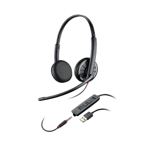 Plantronics Blackwire 325 USB PC headset met snoer - binauraal