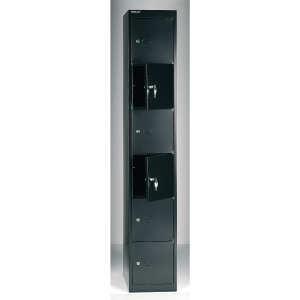Bisley locker CLK186633 6 compartments black