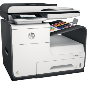 HP J9V80B PageWide Pro 377DW multifunctional inkjet printer