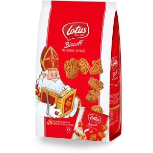 Lotus speculoos Sinterklaas mini - 6 x 25gr