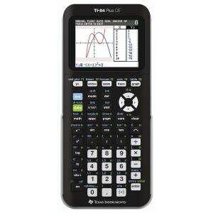 TI 84+ CE rekenmachine wetenschappelijk - 8 lijnenx16 karakters
