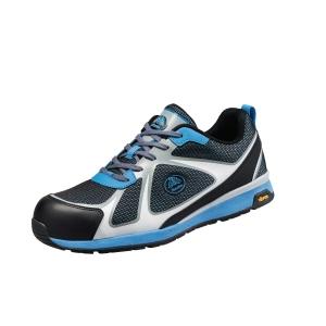 Bata Bright 021 veiligheidssneakers, type S1P, blauw/zwart, maat 38, per paar