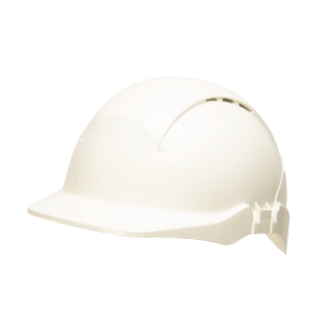 Conturion Concept vented safety helmet - white