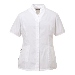 Portwest LW12  tuniek dames, polyester/katoen, wit, maat M, per stuk