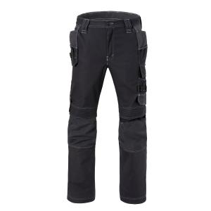 Havep 80230 Attitude werkbroek katoen/polyester 310gr zwart/antraciet - Maat 60