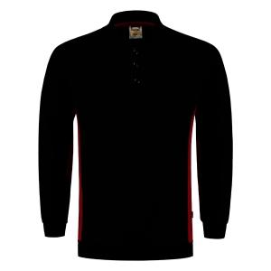 Tricorp TS2000 Bi-color trui, zwart/rood, maat 3XL, per stuk