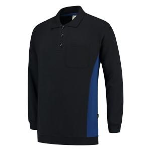 Tricorp TS2000 Bi-color trui, navy/koningsblauw, maat S, per stuk
