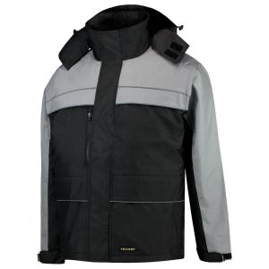 Tricorp TJO2000 parka, zwart/grijs, maat M, per stuk