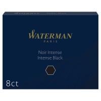 ETUI 8 CARTOUCHES ENCRE WATERMAN INTERNATIONALE LONGUES STANDARD 23 NOIRE