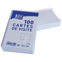BOITE 100 BRISTOLS POUR CARTE DE VISITE 128X82MM