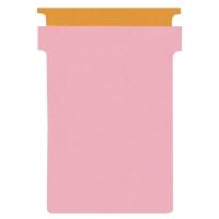 PAQUET 100 FICHES EN T CARTONNEES 170 G/M2 INDICE T2 ROSE