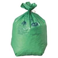 CARTON 500 SACS POUBELLES ECOLOGIQUES GREEN 30L 25 MICRONS 500X700
