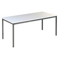 TABLE DE BUREAU BURONOMIC L.160 X P. 80 X H. 74 CM FINITION GRISE