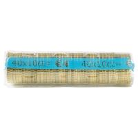 PAQUET DE 250 ETUIS A MONNAIE PVC TRANSPARENT REUTILISABLES 10 CENTIMES D EURO