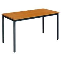 TABLE DE CONFERENCE BURONOMIC RECTANGLE 120X60 CM MERISIER