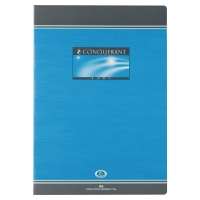 CAHIER PIQURE CONQUERANT A4 70G 96 PAGES SEYES NF