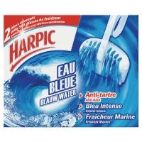 LOT 2 BLOCS WC HARPIC COLORANTS EAU BLEUE ANTITARTRE