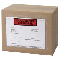BOITE 1000 POCHETTES ADHÉSIVES   DOCUMENTS CI-INCLUS   220X110 MM
