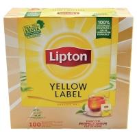 BOITE DE 100 SACHETS THE LIPTON YELLOW