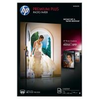 BOITE 20 FEUILLES PAPIER PHOTO HP PREMIUM+ A3 300G BRILLANT CR675A