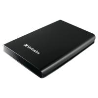 DISQUE DUR EXTERNE VERBATIM 2.5   USB 3.0 NOIR LEGER COMPACT DESIGN ELEGANT 1 TO