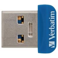 CLE NANO USB STORE N STAY VERBATIM USB 3.0 16 GO BLEUE