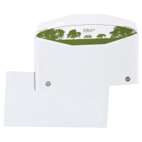 1000 ENVELOPPES RECYCLEES EXTRA BLANCHES MISE SOUS PLI C6/C5 114X229 80G GOMMÉES