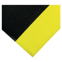 TAPIS COBA ORTHOMAT DIMENSIONS 0.9M X 18.3 COLORIS NOIR ET JAUNE