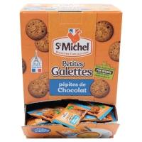 BOITE DE 200 GALETTES SAINT MICHEL AUX PEPITES DE CHOCOLAT 3,5G