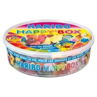 BOITE DE BONBONS HAPPY BOX HARIBO 600G