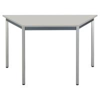 TABLE DE CONFERENCE POLYVALENTE TRAPEZE BURONOMIC 120X60 GRIS CLAIR