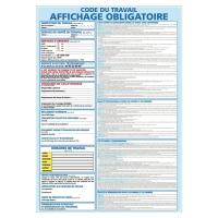 INDICATEUR D AFFICHAGE OBLIGATOIRE ADHÉSIF A3