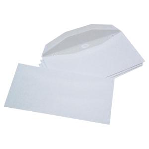 Boite 1000 enveloppes blanches mise sous pli c6/c5 114x229 patte trapeze gommee
