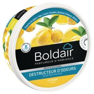 Boldair gel destructeur d odeurs 300g citron