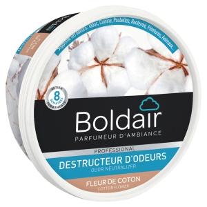 Boldair gel destructeur d odeur 300g fleur de coton