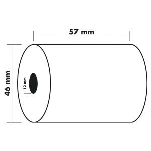 Paq30 bobines therm 1 pli 57x46x12 sanss bpa
