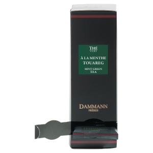 Thé vert Dammann à la menthe touareg - boîte 24 sachets cristal