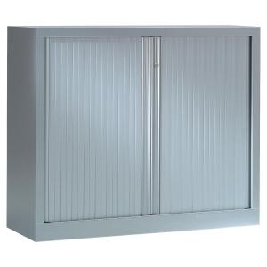Armoire à rideaux démontable Pierre Henry - 100 x 120 cm - aluminium