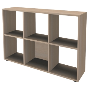 BIBLIOTHEQUE 6 CASES HETRE