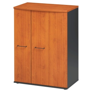 Armoire basse Jazz 3 portes finition aulne