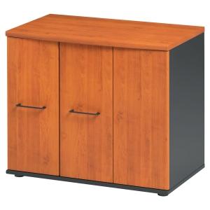 Rangement bas 3 portes Jazz finition aulne H. 80 cm