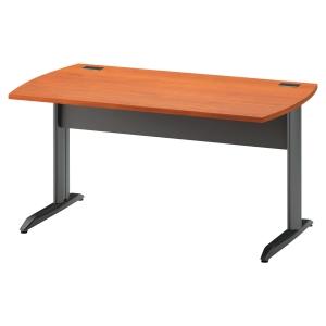Table bureau Jazz finition aulne pieds métal